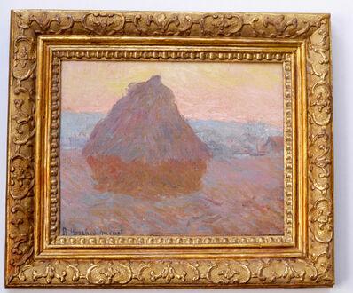 Blanche Hoschedé-Monet, 'Grainstack, Giverny, 1889', 1889