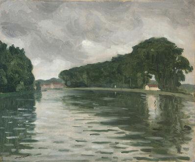 Albert Marquet, 'La Seine à Samois', 1917