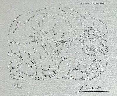 Pablo Picasso, 'L'étreinte I (Suite Vollard Planche XXX)', 1973