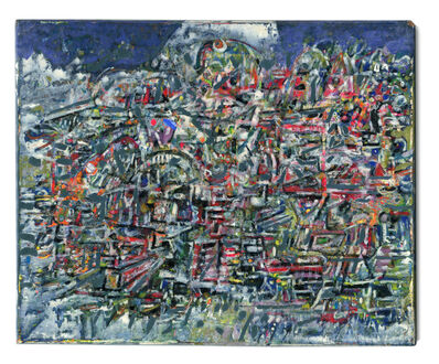 William M. Georgenes, 'Greek Landscape', 1962