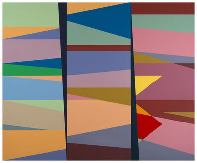 Odili Donald Odita, '2nd and 3rd Degree of Separation (OD15.004)', 2015