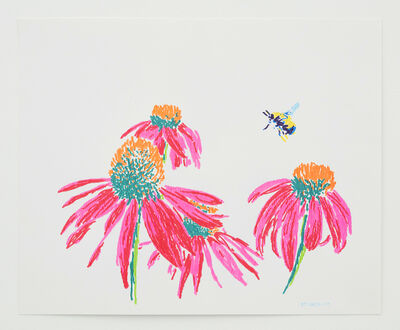 Butt Johnson, 'Untitled (Coneflowers)', 2018
