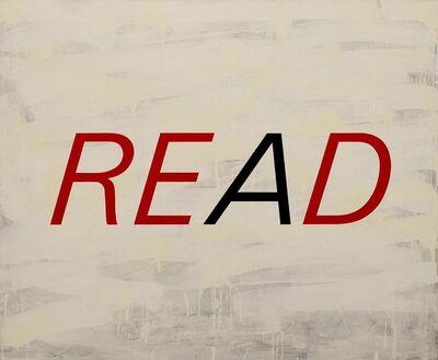 Enn Erisalu, 'Read Red', 1990