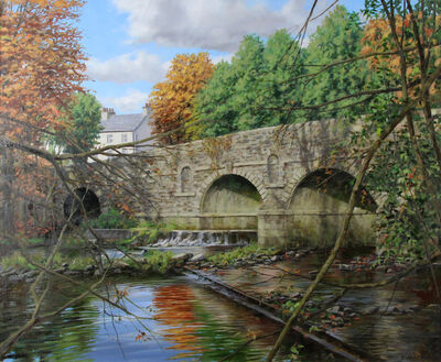 Eugene Conway, 'Bridge In Autumn', 2019