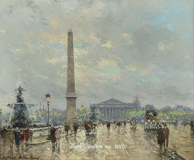 Antoine Blanchard, 'Place de la Concorde'