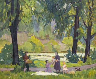 Bernice Fenwick Martin, 'Picnic on the Humber'