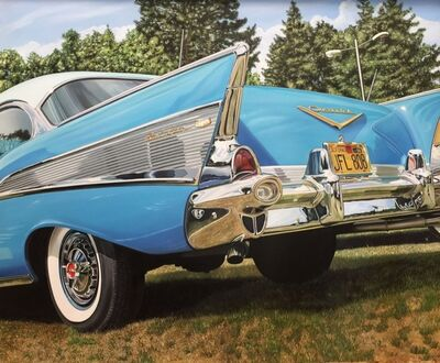 Cheryl Kelley, 'Chevy in the Park', 2016