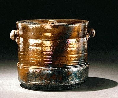 Wayne Ngan, 'Raku Lidded Jar', 1985
