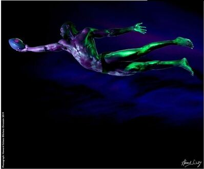 Howard Schatz, 'Athletes of the NFL:  Marquez Valding-Scantling #7', 2019