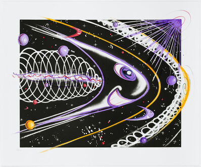 Kenny Scharf, 'Space Traveler', 2011