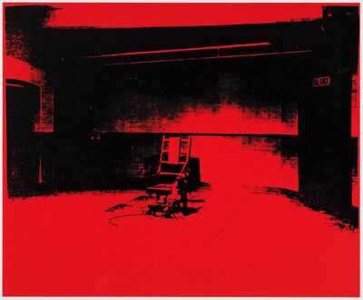 Paul Stephenson, 'Little Electric Chair - Naphthol Red', 2020