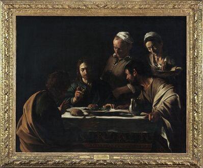 Michelangelo Merisi da Caravaggio, 'The Supper at Emmaus', 1605-1606