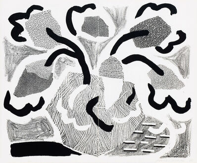 David Hockney, 'Grey Blooms, May 1986', 1986