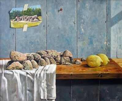 Jan van den Brink, 'Still life with Dutch Hunebed', ca. 2012