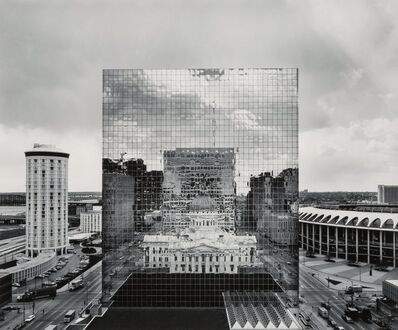 William Clift, 'Reflection, Old St. Louis County Court House, Missouri', 1976