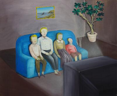HUANG HAI-HSIN, 'Family Time 闔家觀賞', 2014