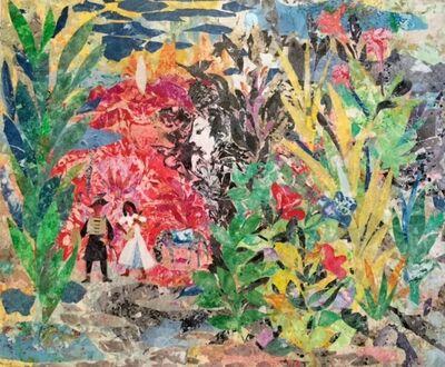 Mohamed Abla, 'Lovers in the Garden'