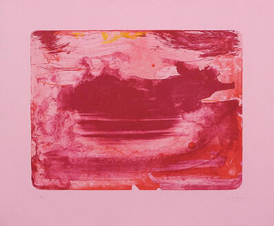 Helen Frankenthaler, 'Red Sea', 1978-1982