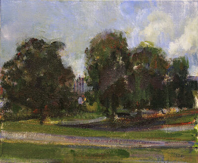 Simon Nicholas, 'Study for Park VII', 2021
