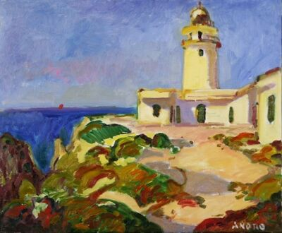 Manel Anoro, 'Cavalleria Lighthouse, Menorca', 2016