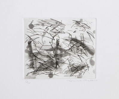 Louisa Chase, 'Portfolio of Six Etchings, V', 1984