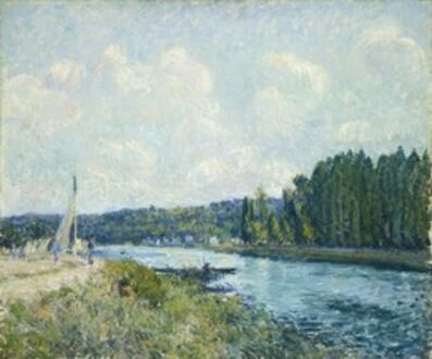 Alfred Sisley, 'The Banks of the Oise', 1877/1878