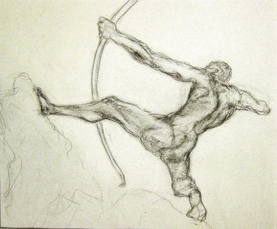 Alfred R Kelman, 'After Antoine Bourdelle (1861-1929) - Hercules the Archer', N/A