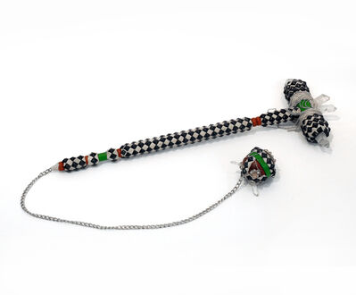 Lucien Shapiro, 'Green and quartz studded croquet of protection', 2019