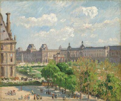 Camille Pissarro, 'Place du Carrousel, Paris', 1900