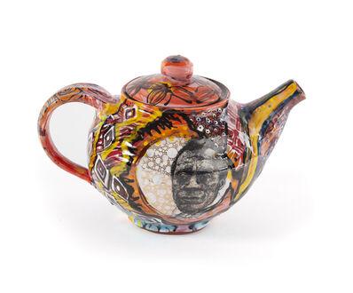 Roberto Lugo, 'James Baldwin Teapot', 2020