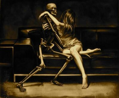 Edward Walton Wilcox, 'Death and the Maiden', 2009