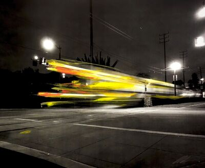 Pete Kasprzak, 'Gold Line Train', 2016