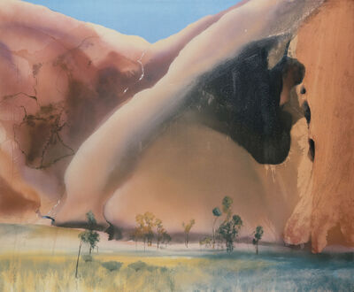 Michael Andrews, 'Permanent Water Mutidjula, by the Kunia Massif (Maggie Spring, Ayers Rock)', 1985-1986