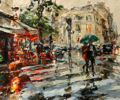 Lyudmila Agrich, 'Rainy Paris', 2018