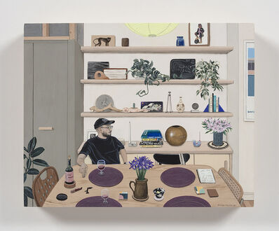 Paige Jiyoung Moon, 'Carlos With His Shelf', 2019
