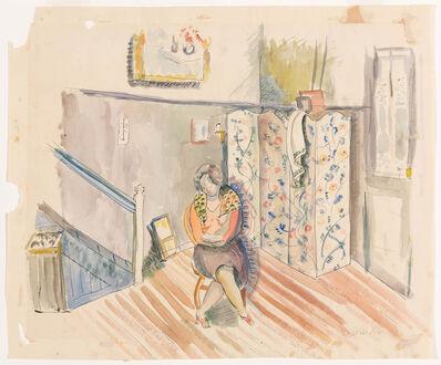 Louis Schanker, 'Seated Woman', circa 1930