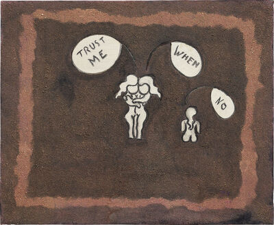 William Nelson Copley, 'Trust Me, When, No', 1963