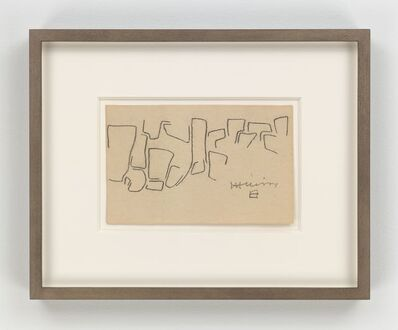 Eduardo Chillida, 'Untitled', 1961