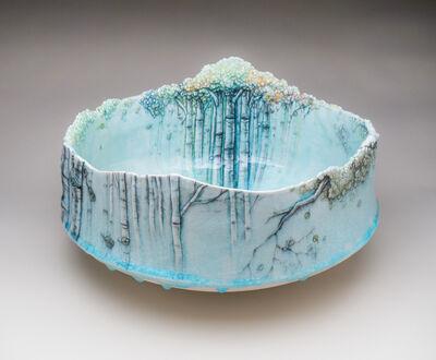Heesoo Lee, 'Large Landscape Bowl', 2016
