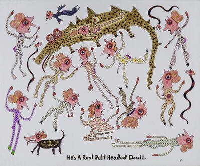 Jeanne Brousseau, 'He's a Real Butt Headed Devil ', 2019