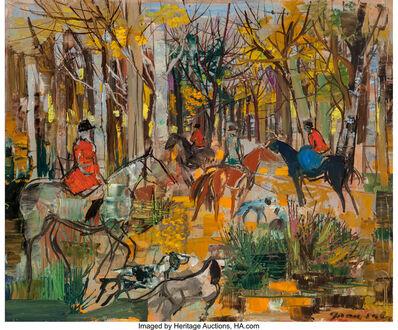 Emilio Grau Sala, 'Chasse à cour', 1964