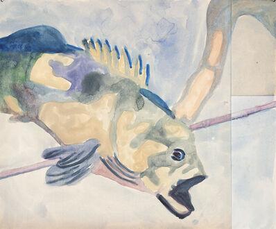 Ulla von Brandenburg, 'Fisch', 2018