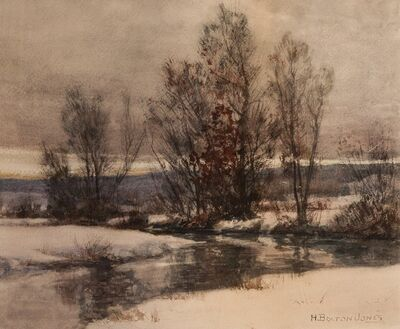 Hugh Bolton Jones, 'Winter Light', ca. 1900