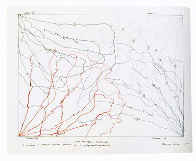 Barry Le Va, '4 Phase-Corner Blow Piece', 1969