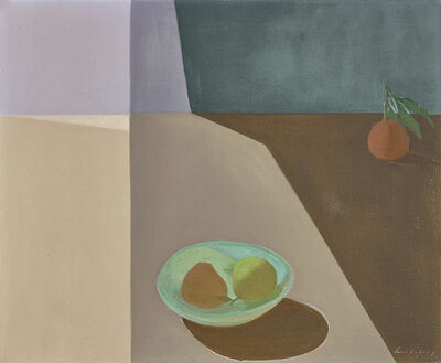 Helen Lundeberg, 'Fruit in Space', 1953