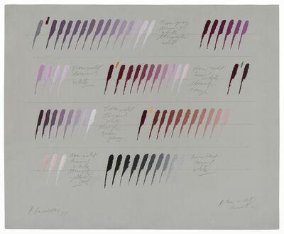 Osvaldo Romberg, 'The violet disot', 1977
