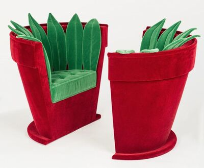 Hubert Le Gall, 'Pot of Flowers (Armchairs) ', 1998