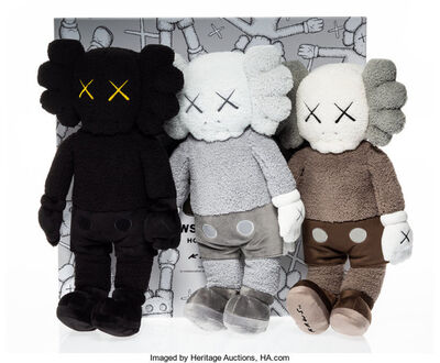 KAWS, 'Holiday Hong Kong Plush, set of three', 2019