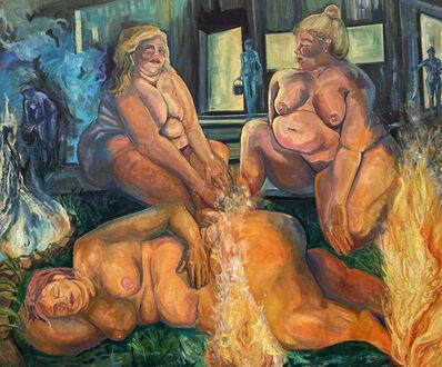 Bailey Gardner, 'Bathing in Flames', 2021
