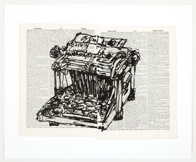 William Kentridge, 'Universal Archive (Ref. 61)', 2012
